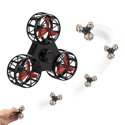 Magneticspace Handheld Flying Fidget Spinner Anti-anxiety Adhd Relieving Reducer Outdoor Interactive Toys For Kids Adult Best Gi
