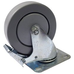 Seismic Audio - LAQ18SUB-L-WHEEL - 4 Inch Locking Swivel Caster Or Wheel For Line Array Subs Dual And Quad Subwoofer Cabinets