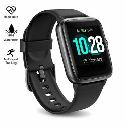 Fitpolo Fitness Tracker Watch With Heart Rate And Sleep Monitor - Activity Tracker Waterproof Smart Wristband Watch Step Calorie Counter Pedometer Android Iphone Compatible