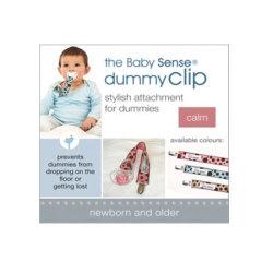 Baby Sense Dummy Clip Pink