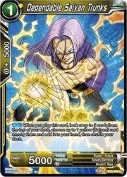 Dragon Ball Super Tcg Singles - Dependable Saiyan Trunks - BT6-086 - C - Destroyer Kings