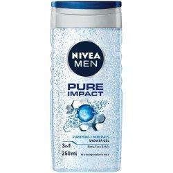 Nivea Men Pure Impact Shower Gel - 250ml