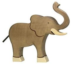 Holztiger Elephant Trunk Highly Toy Figure
