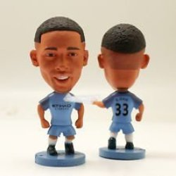 Soccer Manchester City Gabriel Jesus 33 Toy Figure 2.5