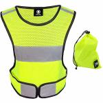 Hivisible Reflective Vest - Reflective Running Gear For Men And Women For Night Running Biking Walking. Reflective Running Vest