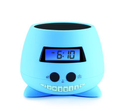 BigBen Interactive - Alarm Clock With Projector - Blue