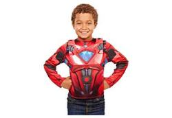 Power Rangers Movie Red Ranger Deluxe Dress Up Costume