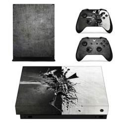 SKIN-NIT Decal Skin For Xbox One X: Metal Design