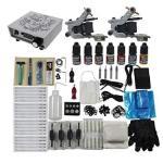 Redscorpion Tattoo Complete Kit Set 2PCS Coil Tattoo Machine Gun For Starter Tattoo Kits