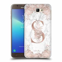 Head Case Designs Official Nature Magick S Rose Gold Marble Monogram 2 Hard  Back Case For Samsung Galaxy J7 Prime 2 2018 | R970 00 | Cellphone