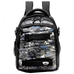 "Volkano Bam M 15.6"" Camo Laptop Trolley Backpack"