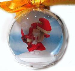 Lego Christmas Ornament Dinosaur