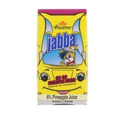 Fruitree Jabba Juice Pineapple 24 X 160ML