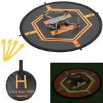 Double Xberstar Side Day&night Foldable Apron Landing Pad For Dji Mavic Pro Spark Inspire 1 PHANTOM4 3 Mavic Air Quadcopter Rc D