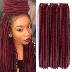 Shangke Hair 18 3 Packs Lot Crochet Braids Locks Faux Locs Crochet