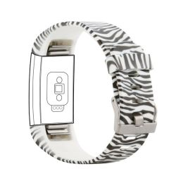 Pattern Band For Fitbit Charge 2 - Zebra