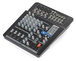 Mixpad Mxp124fx Compact 12-channel Analog Stereo Mixer With Effects And Usb