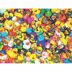 Springbok 400 Piece Family Jigsaw Puzzle Funny Duckies