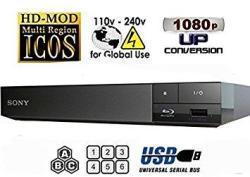 Wgc Sony BDP-S1500 Region Free Blu-ray Player Pal ntsc Zone A B C Rigion 012345678 Will Play