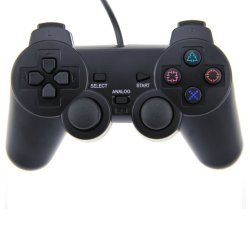 Double Vibration PS2 Wired Analog Controller 2