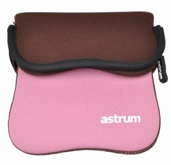 """Astrum 10.0"""" Dual Side Neoprene Sleeve - Pink Brown"""