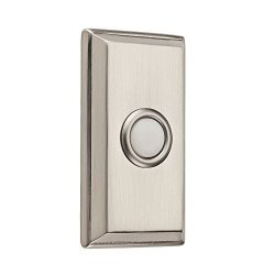 Baldwin 9BR7015-002 Rectangular Bell Button