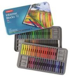 Derwent Inktense Blocks 72 Tin
