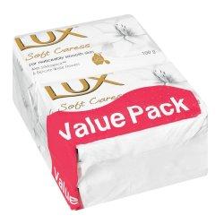 LUX Soft Caress Soap 4X100G