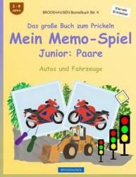 Brockhausen Bastelbuch Bd. 4 - Das Groe Buch Zum Prickeln - Mein Memo-spiel Junior: Paare