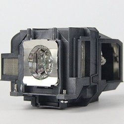 QueenYii Compatible For Epson EB-S18 Powerlite X24+ EB-S120 EB-S03 EB-S17 EB-S18 Replacement Projector Lamp With Bulb Inside