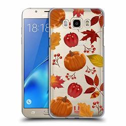 Head Case Designs Pattern Autumn Illustration Hard Back Case For Samsung Galaxy J7 2016
