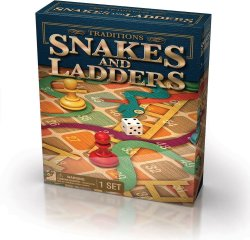 Tradition Snakes & Ladders Game