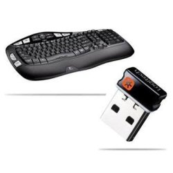 d1bdf74650b Logitech K350 Wireless Keyboard USB Unifying Receiver Black Prices ...