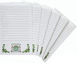 USA Flannagan Irish Coat Of Arms Notepads - Set Of 6