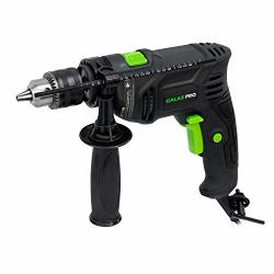 """Hammer Drill 4.5A Corded Drill Galax Pro Impact Drill 0-3000RPM Electric Drill With 1 2"""" Keyed Chuck And Depth Gauge For Drilli"""