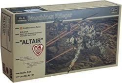 USA Space Humanoid Type Unmanned Interceptor Groserhund Altair 1 20 Scale Plastic Model Kit Japan