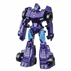Hasbro Transformers Cyberverse Action Attackers: Scout Class Shadow Striker Action Figure Toy