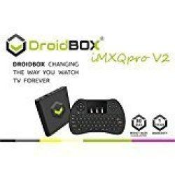 DroidBOX Imxqpro V2 With H9 Mini-keyboard Android 6 0 1 Powered Gbox MINI  Computer Spmc dbmc xbmc Tv Box And Libreelec 16 Amlogic S905X 2GB RAM 16GB