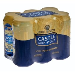 Castle - Milk Stout 440ML Can 6 Pack   R   Beer   PriceCheck SA