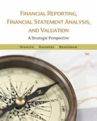 Financial Reporting Financial Statement Analysis And Valuation Hardcover 9TH Edition