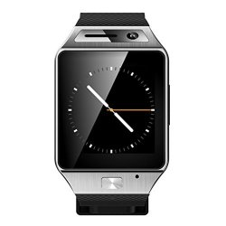 Anxinke Bluetooth Smartwatch Phone Sport Watch 32GB Tf Card Touch Screen Heartrate Test With Pedome