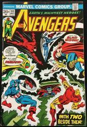USA Avengers 1963 111 Fn+ 6.5 X-men Magneto