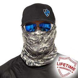 Salt Armour Face Mask Shield Protective Balaclava Bandana MicroFiber Tube Neck