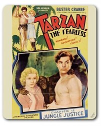 1ART1 GmbH Tarzan Mouse Pad - The Fearless 1933 9 X 7 Inches