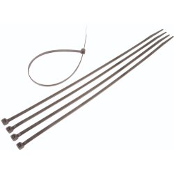 Moto-Quip - 5MM Cable Ties Black 300X5MM 10PC