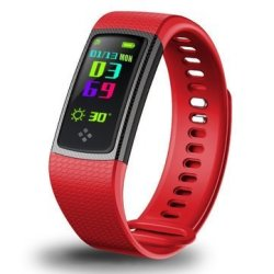 Bakeey S9 0.96INCH Ips Heart Rate Blood Pressure Monitor Pedometer Bluetooth Smart W