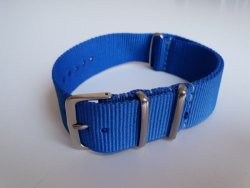 22MM Nato Watch Strap Royal Blue