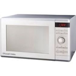 Russell Hobbs Electronic Microwave Silver Mirror Finish 36L