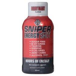Sniper Energy Shot 58ML Berry