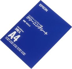 Epson Inkjet Printer Cleaning Sheet A4 Size 3 Pieces Mjcls Japan Import
